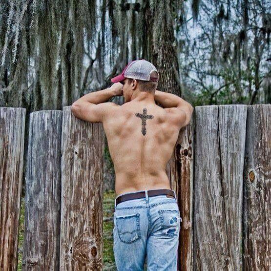 Radom hot guy with tattoo