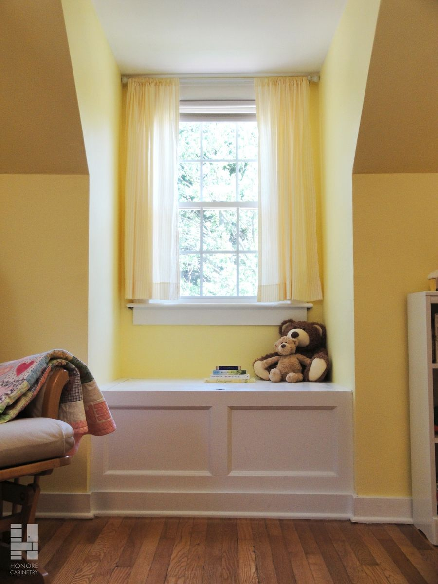 Custom Made Cabinetry Built In Window Seat With Storage