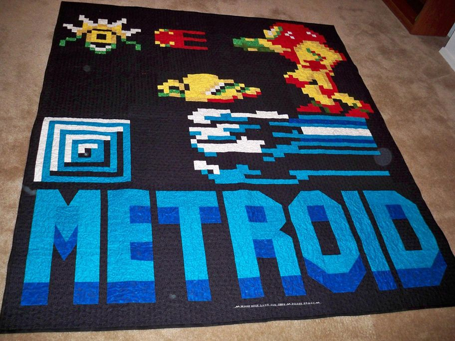 earthbound video game quilt - Google Search | Video Game Stuff ... : video game quilt pattern - Adamdwight.com