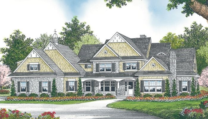 Good For Adding On To Country Style House Plans Craftsman Style House Plans Family House Plans