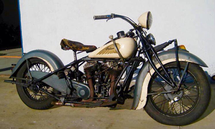 37 Indian Chief Great Patina On Original Beige Metallic Steel Blue Paint Ex Billy Lane Scoot Indian Motorcycle Vintage Indian Motorcycles Motorcycle