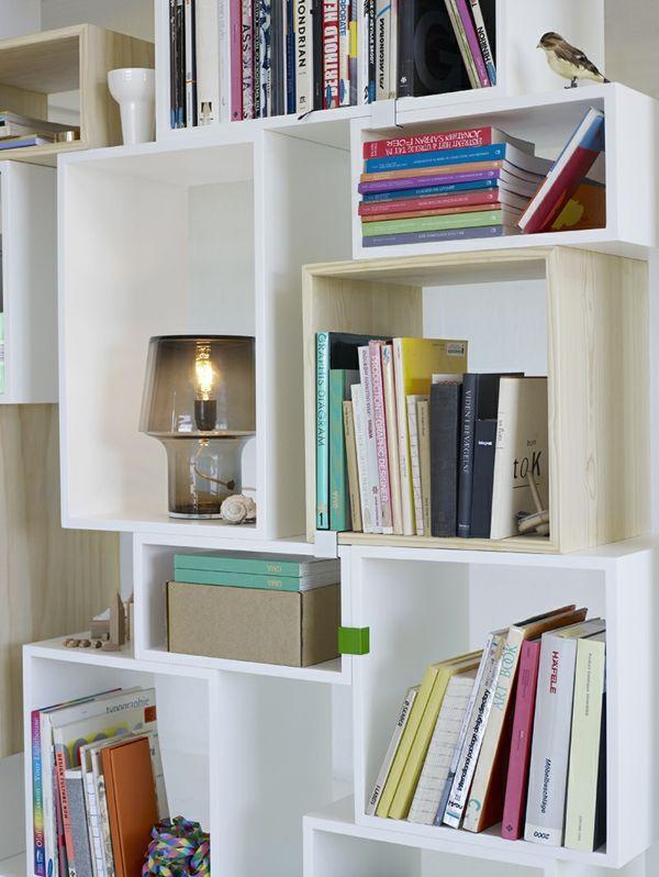 Aufbewahrung- und Regalsysteme aus Holz für private Zwecke Möbel