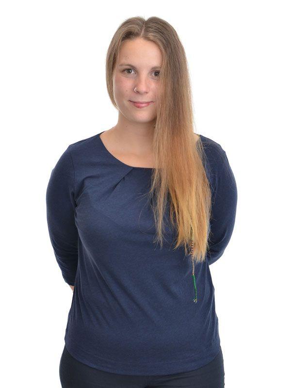 Basic-Shirt von Lanius, aus feinster Bio-Baumwolle, weich ...