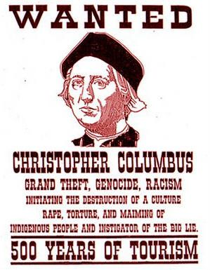 Abolish Columbus Day Indigenous Peoples Day Christopher Columbus Happy Columbus Day