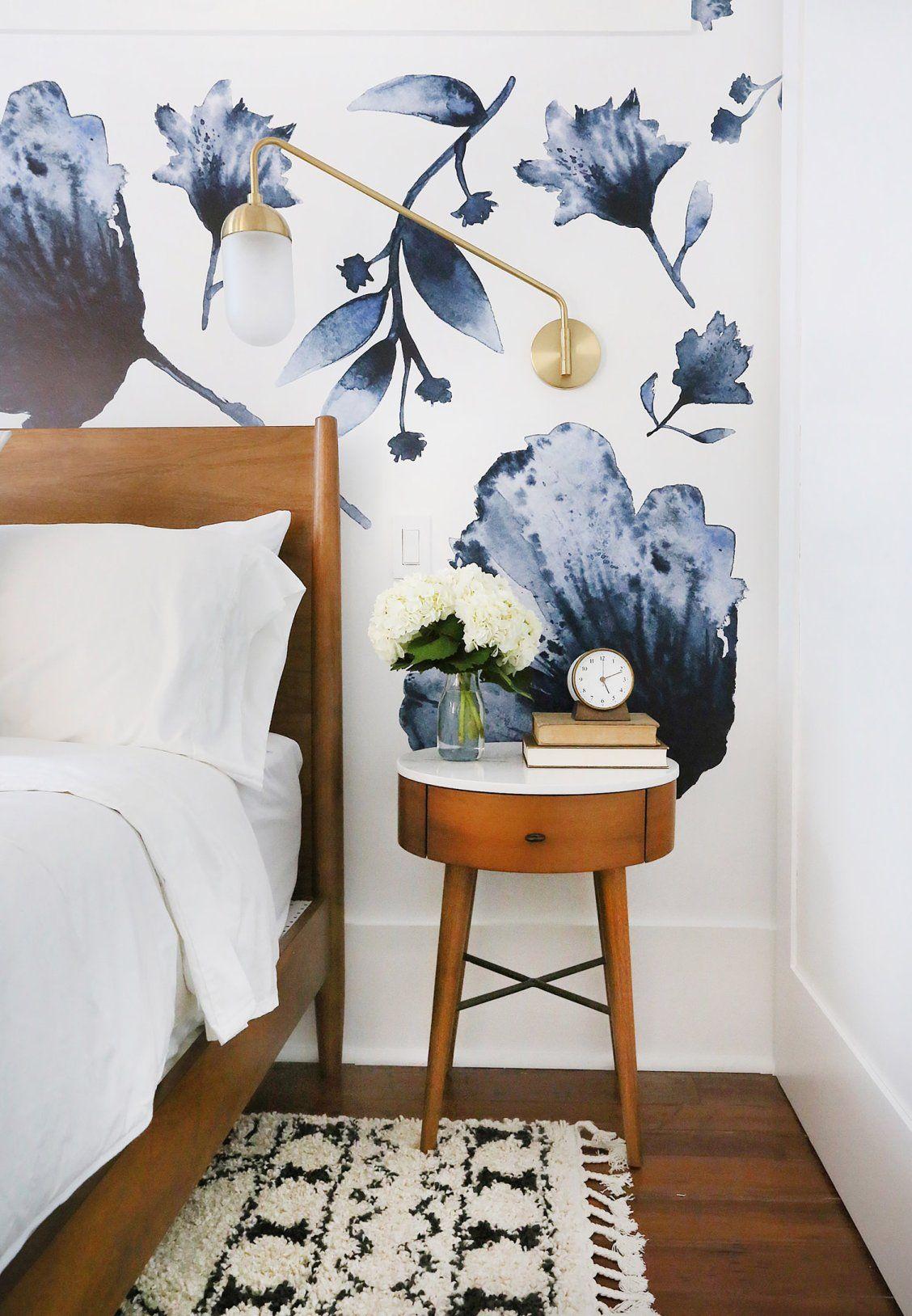 Best Bold Wallpaper In The Bedroom Small Bedroom Decor Diy 400 x 300