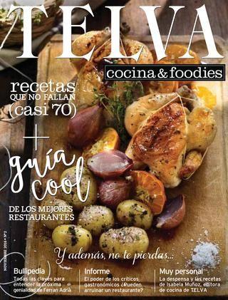 Telva Cocina | Telva Cocina Noviembre 2016 Revistas Con Recetas