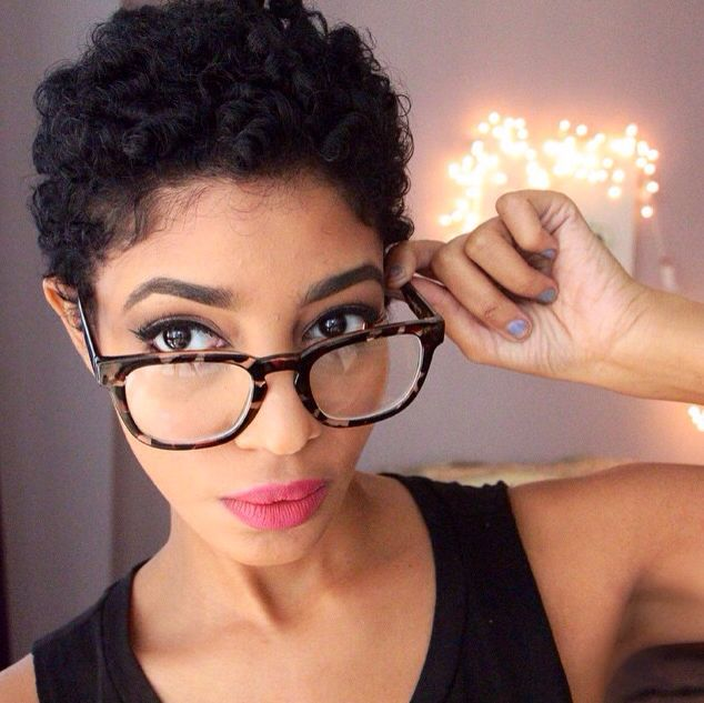 ***Try Hair Trigger Growth Elixir*** ========================= {Grow Lust Worthy Hair FASTER Naturally with Hair Trigger} ========================= Go To: www.HairTriggerr.com =========================      Super Cute Curls and Glasses!