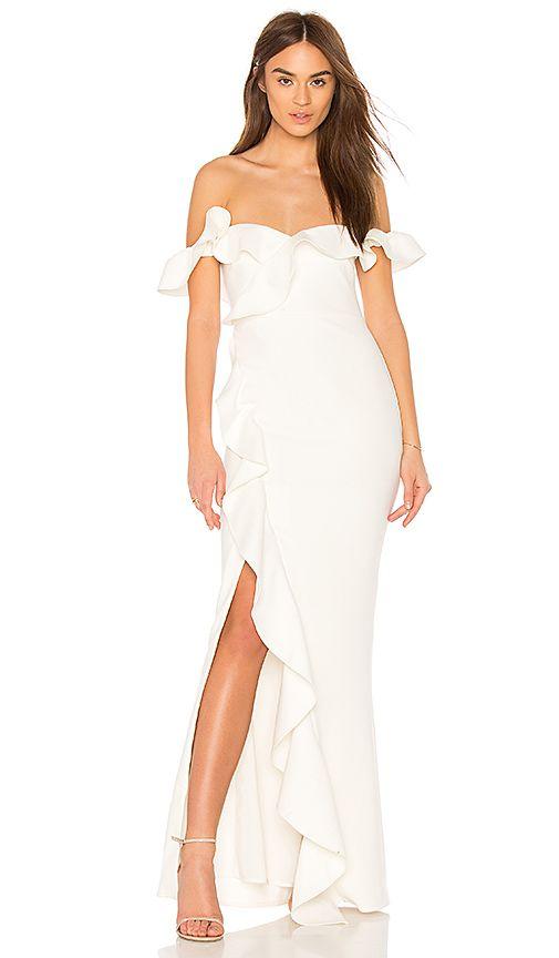 x Revolve Miller Bridesmaids Dress in