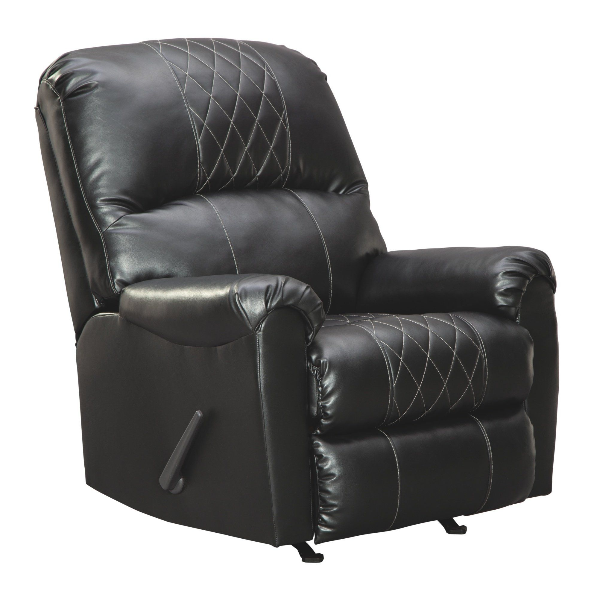Best Betrillo Recliner Black Signature Design By Ashley Polyester Blend Recliner With Ottoman 400 x 300