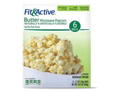 Fit Active 94 Fat Free Er Microwave Popcorn