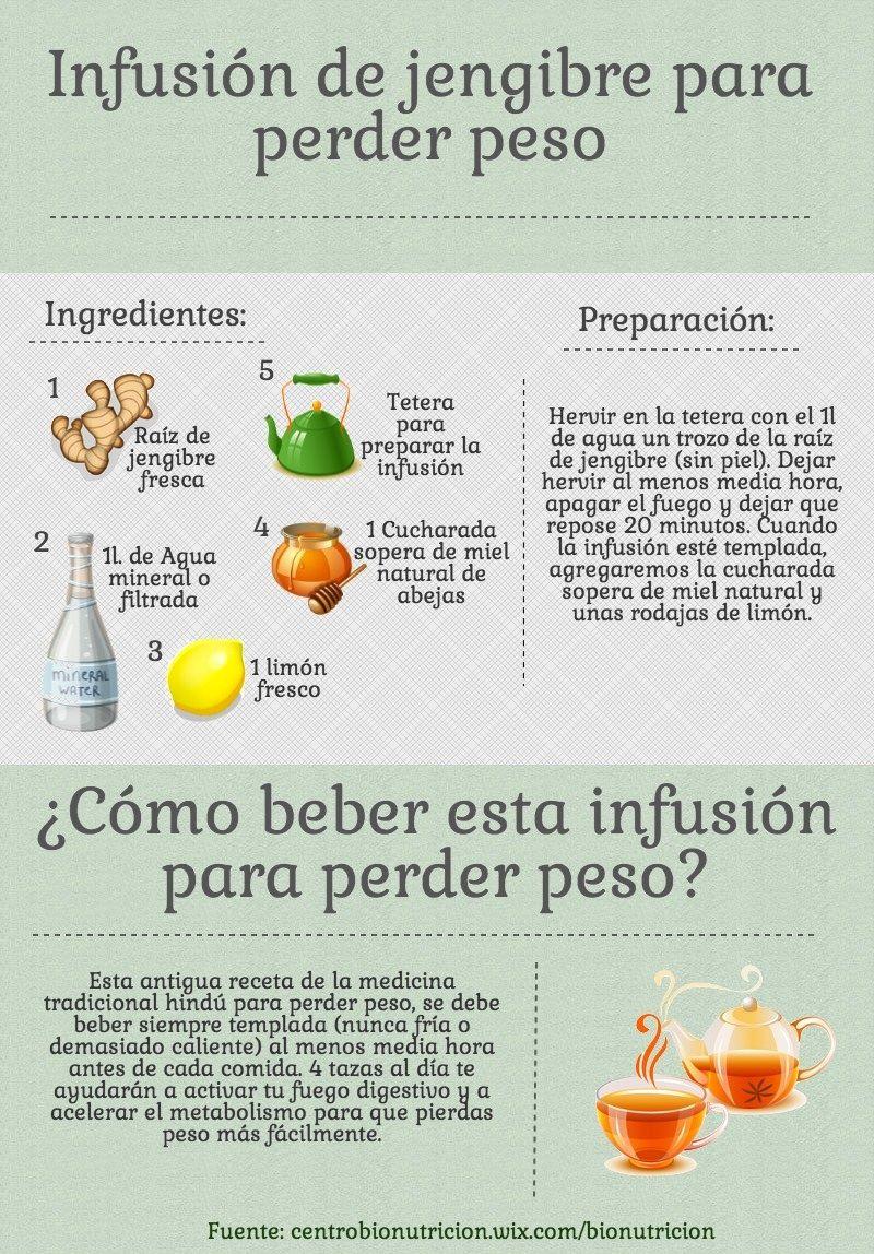 Remedios caseros para adelgazar con jengibre