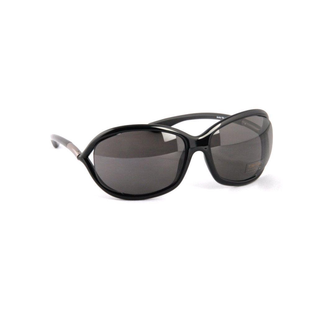 ffda1b3ac5baf TOM FORD -Jennifer FT008-199 BLACK Sunglasses
