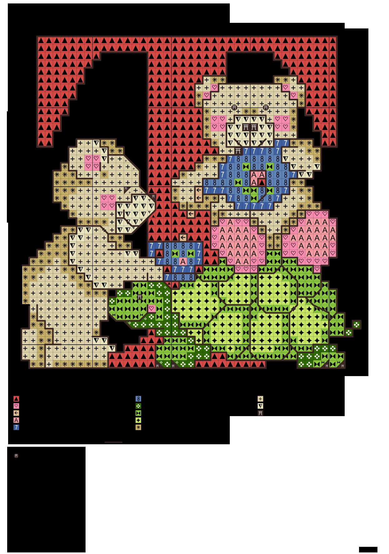 Alfabeto degli orsetti t alfabeti a punto croce for Ricamo punto croce lettere