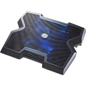 Cooler Master Notepal X3 Laptop Cooling Pad With 200mm Blue Led Fan R9 Nbc Npx3 Gp Designed To Transcend The Typical Issues That Plague Notebook Coolers