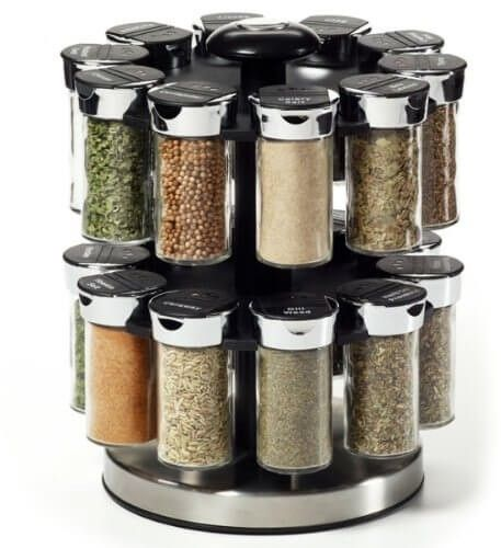 Lazy Susan Spice Rack Unique 27 Spice Rack Ideas For Small Kitchen And Pantry  Diy Hat Rack Decorating Inspiration