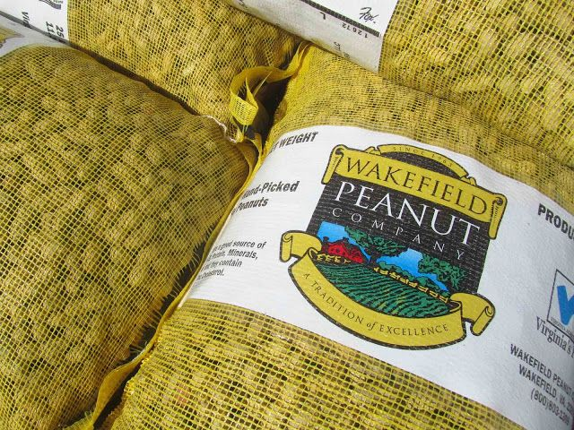 Suffolk is peanut country. Geographically Yours Wakefield