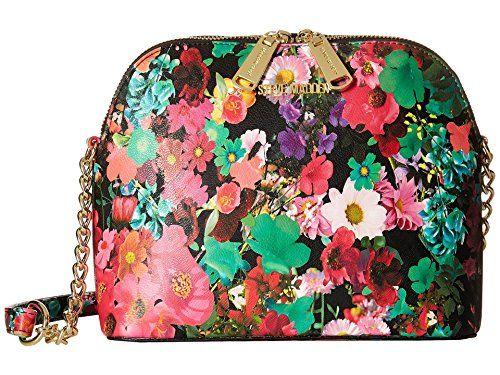 ae1483dbbbb Steve Madden Women's BMarilyn Floral Dome Crossbody Handbag | Wish ...