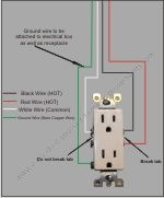 how to wire a split receptacle electrical pinterest electrical wiring a contactor diagram 9a6fdfa835adfa029cfa7ef161eb7379 jpg
