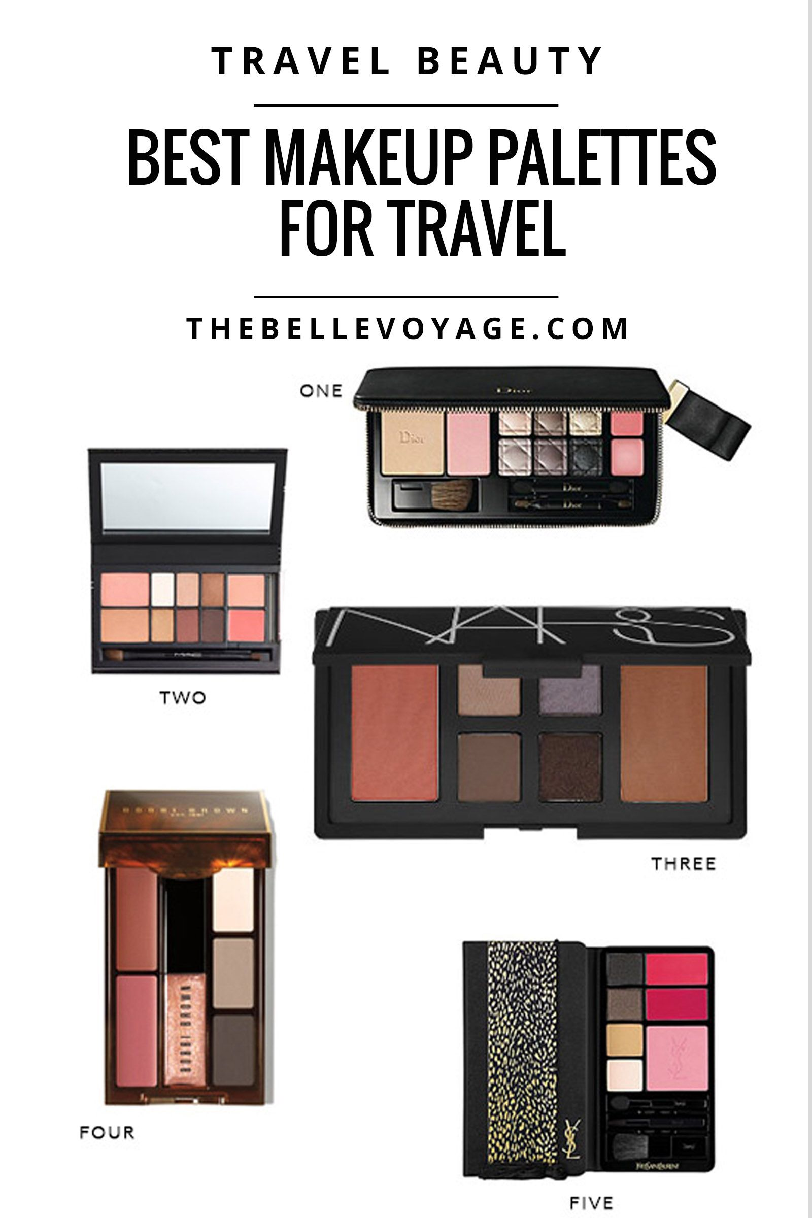 the best makeup palettes for travel | best makeup palettes