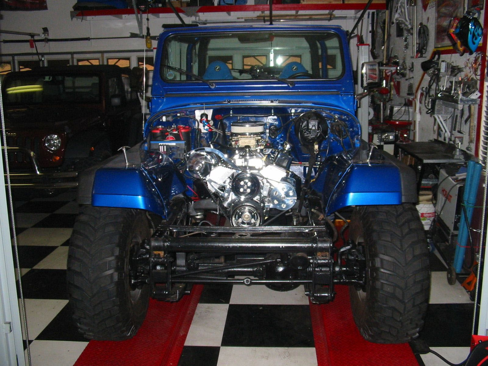 Customer submission of our bp3834ct1 into his 1994 jeep wrangler customer submission of our bp3834ct1 into his 1994 jeep wrangler blueprintengines crateengine jeep malvernweather Choice Image