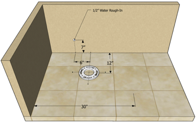 Toilet Rough In The 4 Dimensions You Need To Know Tiny Bath Bathroom Remodel Shower Toilet