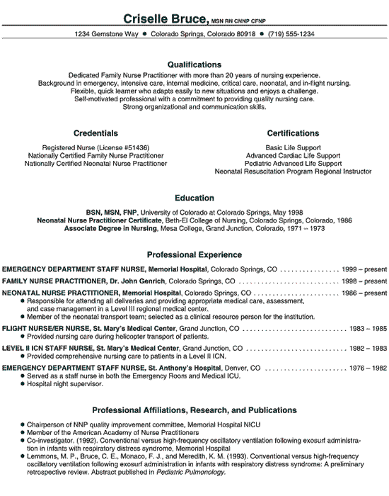 resume-example-healthcare-nurse2.gif (550×700) | Nurse | Pinterest ...