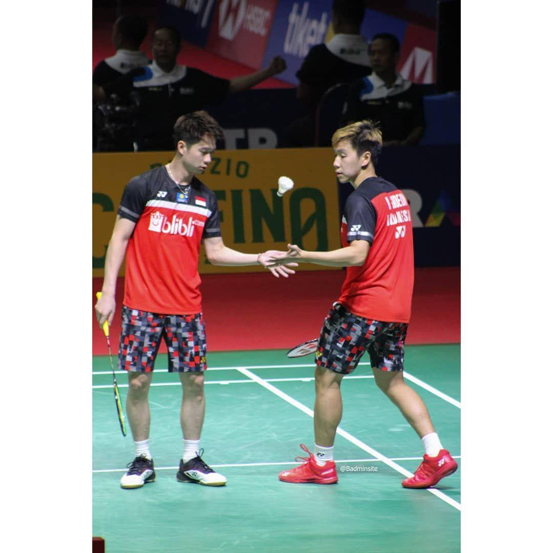 Kevin dan gideon Blibli indonesia open 2019 kevinsanjaya