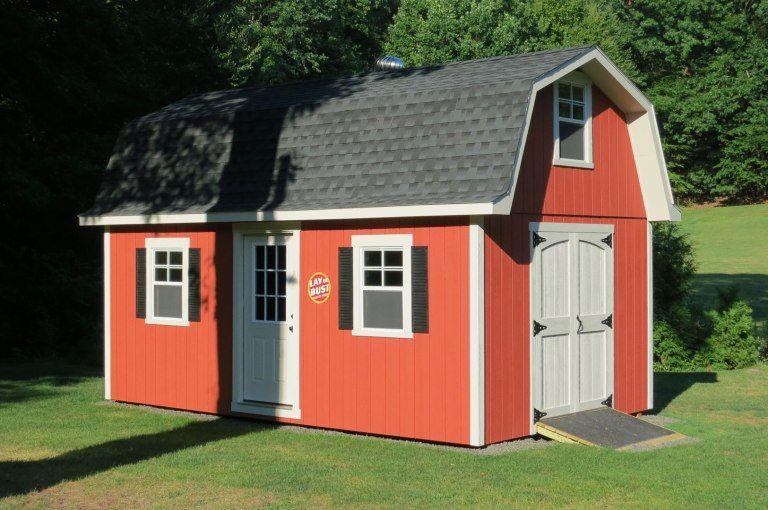Tall Gambrel Barn Style Sheds Gambrel Roof Gambrel Barn Barn