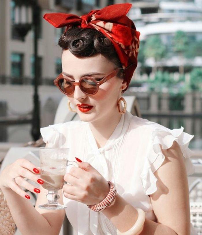 1001 Inspirierende Ideen Fur Coole Bandana Frisuren Frauenmode