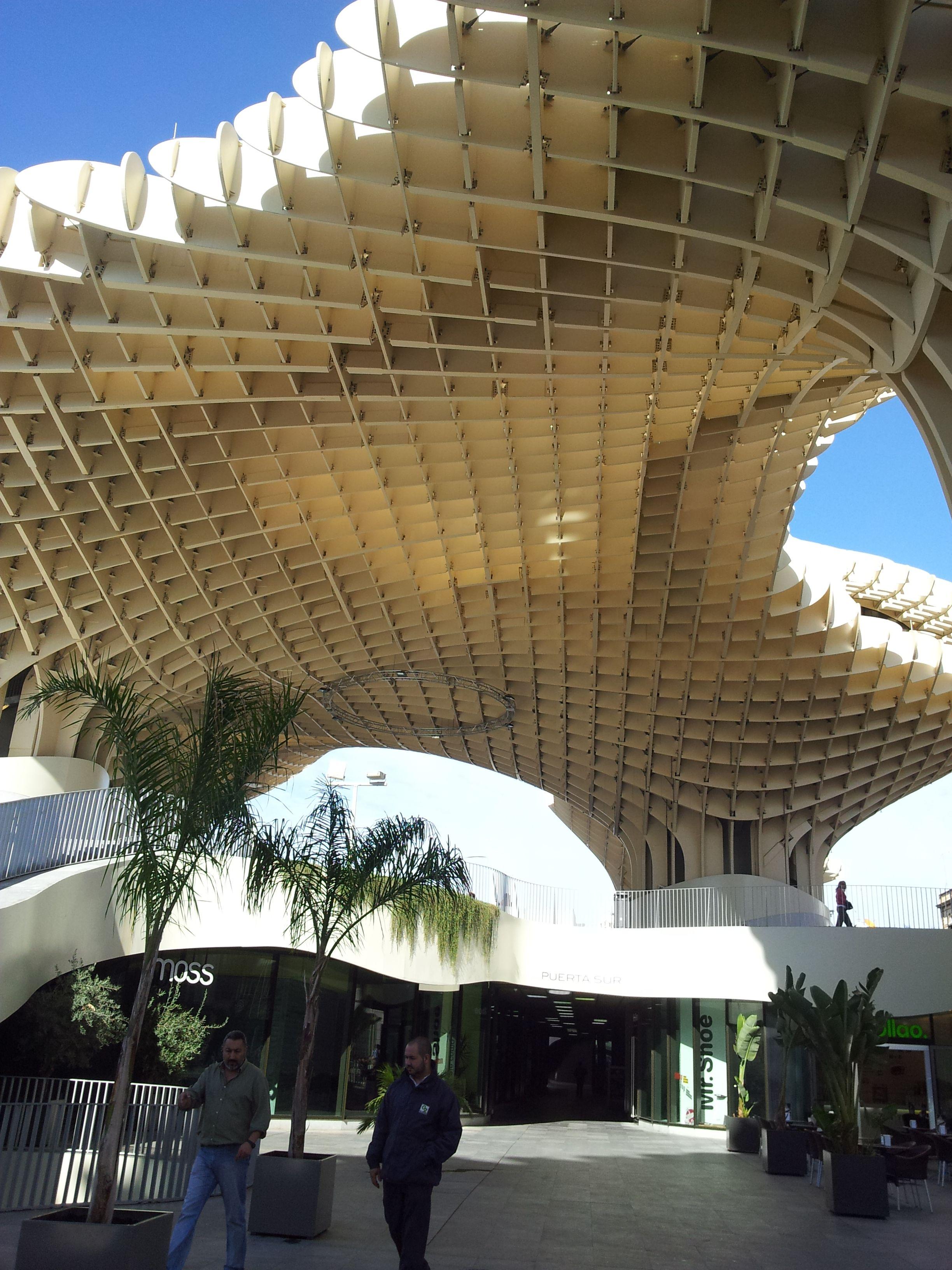 Metropol parasol (con imágenes) Sevilla, Casas, Casas
