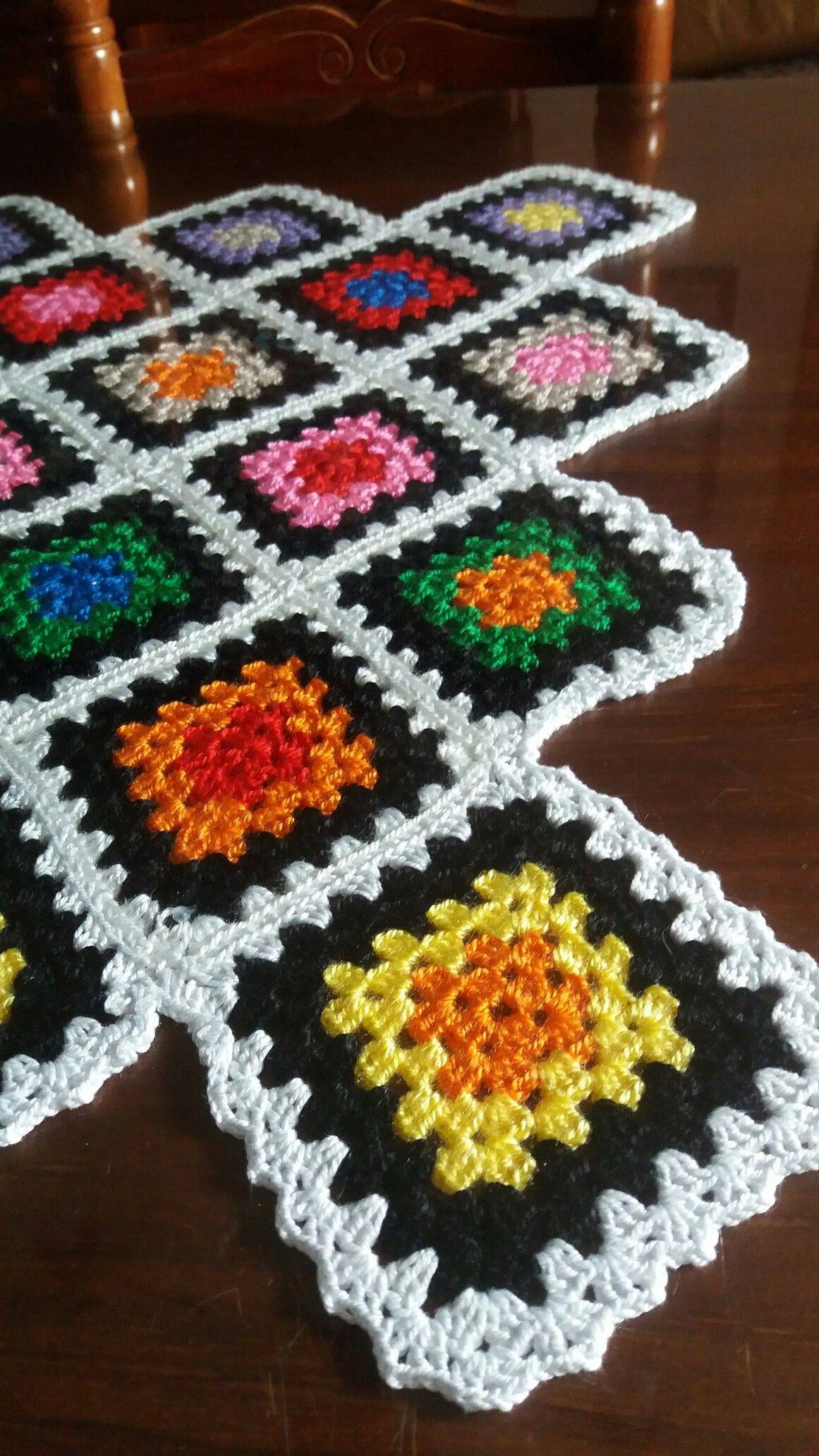 Imagem De Haken Por Aysenur Almofadas De Croche Quadrados De