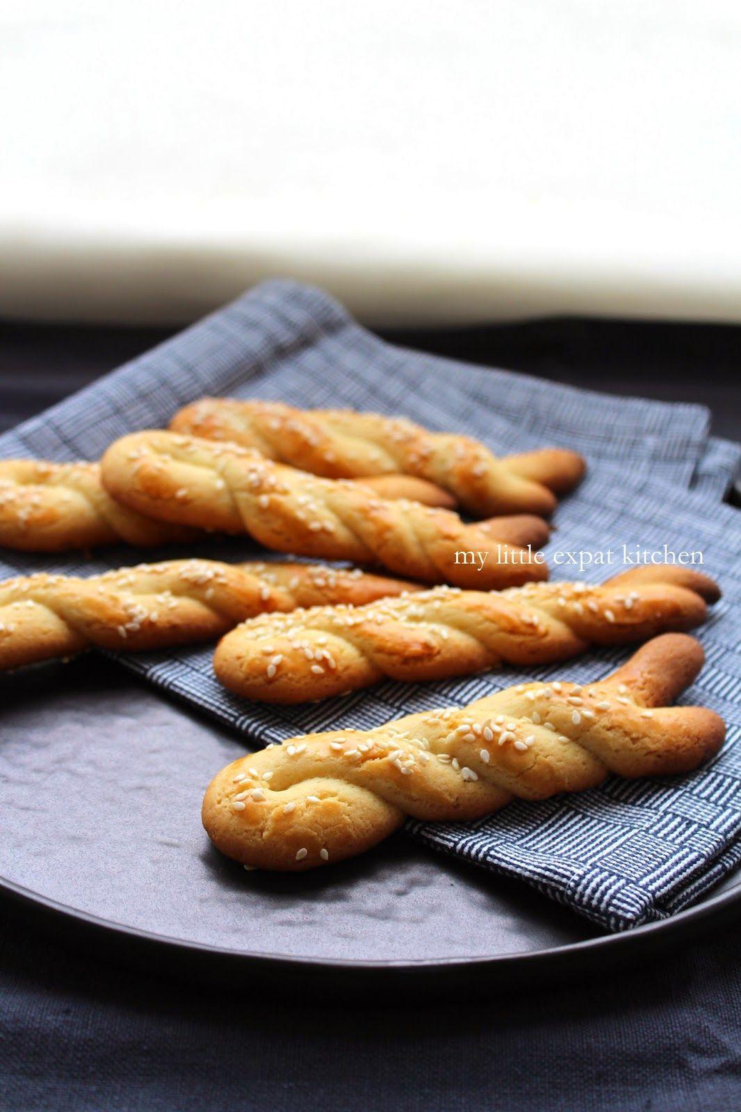 My Little Expat Kitchen Paschalina Koulourakia Greek