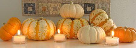 Lovely pumpkin display