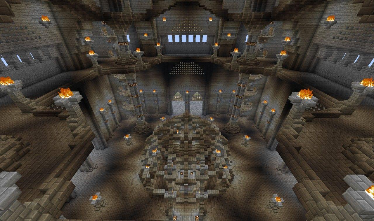 Minecraft Castle Interior