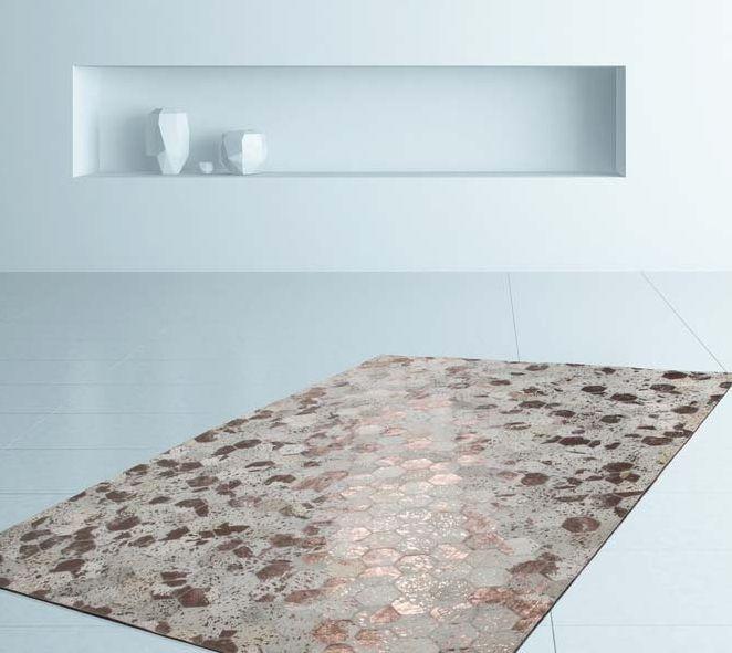 tapis cuir tapis peau de bete
