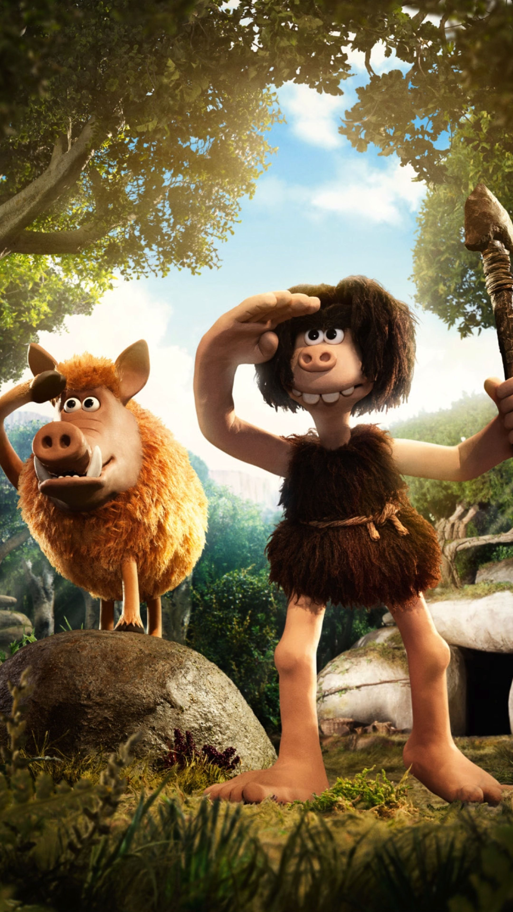 Early Man 2018 Movie In 2160x3840 Resolution English