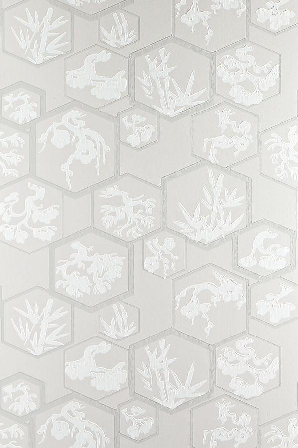 Farrow & Ball Shouchikubai Wallpaper Wallpaper, Luxury