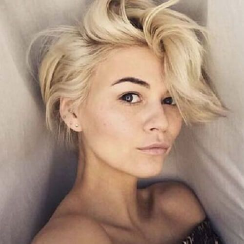 Long Pixie Cut With Bangs Hairstyles Pinterest Long