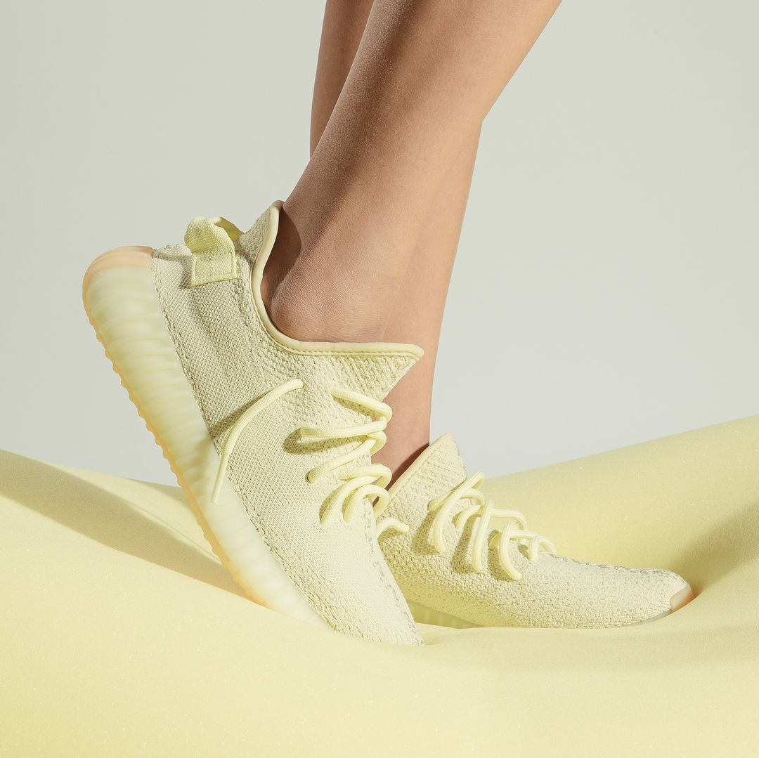 new product 23886 b911a YEEZY Boost 350 V2 Butter for women is now available for ...
