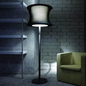 Blauet Luz Oculta Tissue Shade Floor Lamp Lamps