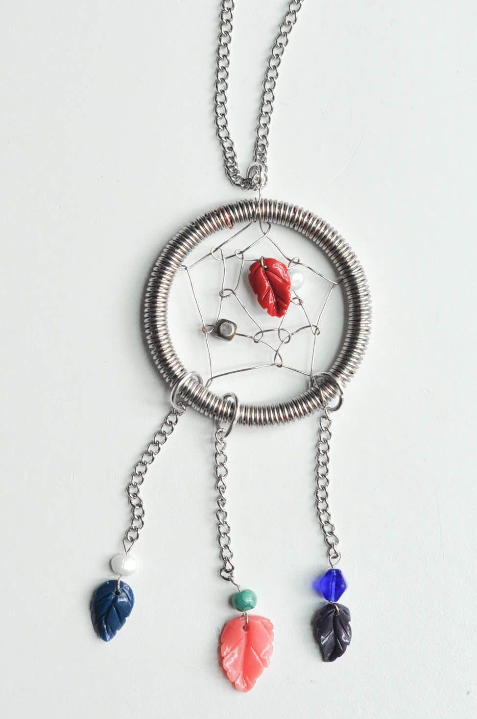Wire Dream Catcher Necklace Dream catcher necklace