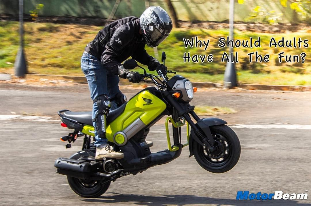 A Fun Little Scooter Errr Motorcycle Motorbeam India