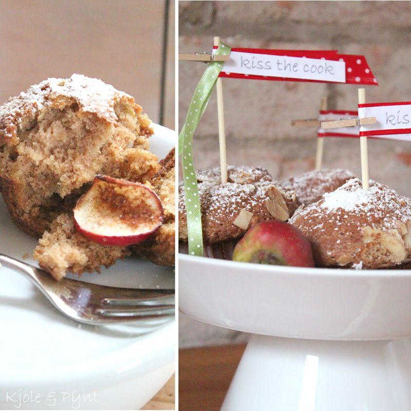 seidenfeins Dekoblog: Äpfel rot wie Blut & kiss the cook ... apple muffins for snowwhite ( Apfelmuffins mit Zimt )
