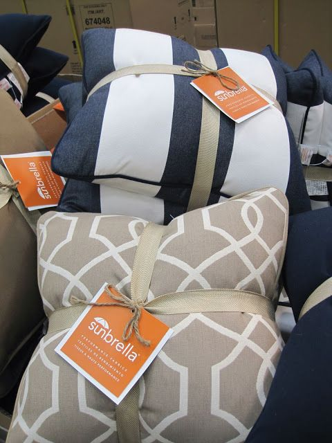 4040 For TWO Sunbrella Pillows At Costco Can Use Outdoors Fascinating Costco Decorative Pillows