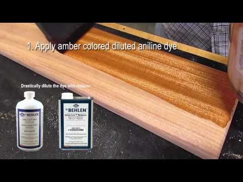 Sapele Wood How To Finish Ribbon Stripe Stripe Salele For