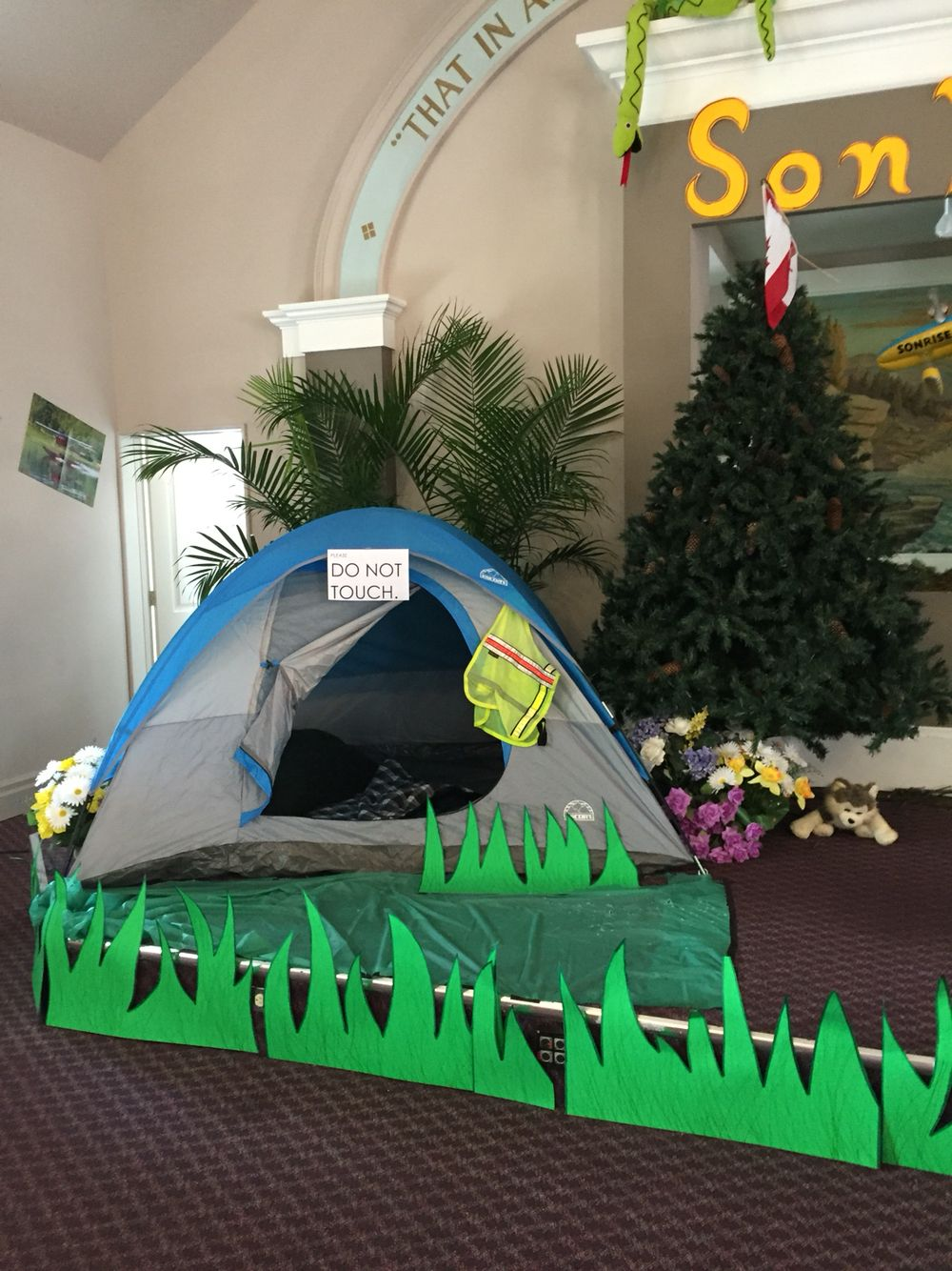 Sonrise National Park Vbs Decorations Camping Front