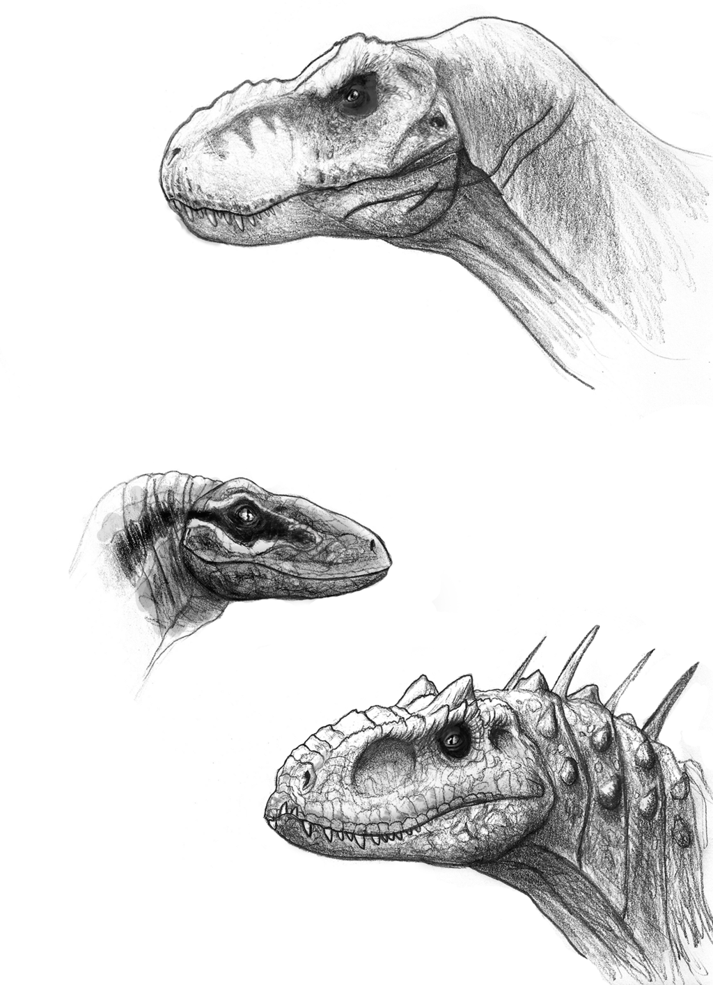 Jurassic World Sketches by on