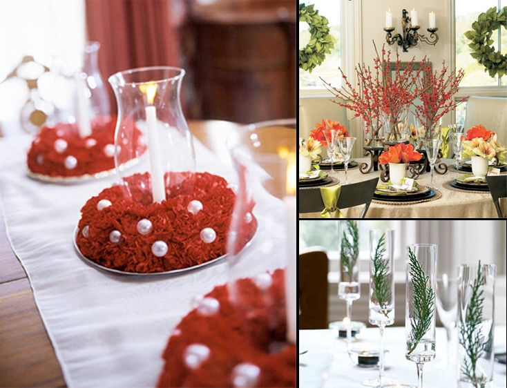Simple Christmas Table Decorations Amazing Design With Christmas Table Dec Christmas Table Decorations Centerpiece Christmas Table Christmas Table Centerpieces