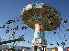 The Oklahoma State Fair In Oklahoma City Is Always A Fall Favorite North America Continent Carnival Rides Oklahoma