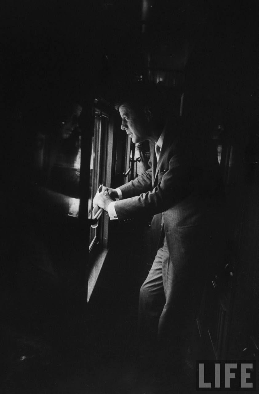 Sen. John F. Kennedy during his Presidential campaign. Location:US Date taken:September 1960 Photographer:Paul Schutzer